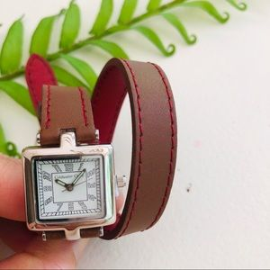 ⭐️ Coldwater Creek Brown Wrapped Watch